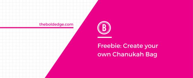 Freebie: Create your own Chanukah Bag