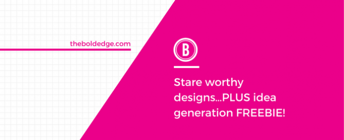 Stare worthy designs…PLUS idea generation FREEBIE!
