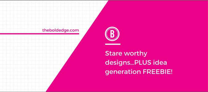 Stare worthy designs…PLUS idea generation FREEBIE!