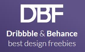 Dribble and Behance Freebies